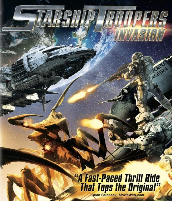 STARSHIP TROOPERS INVASION - Sony Pictures - été 2012 Starsh10