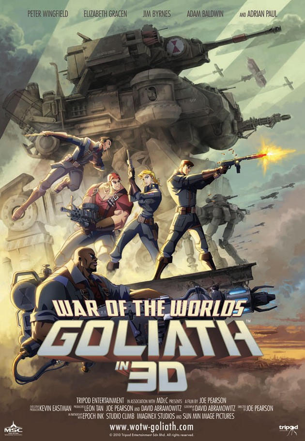 WAR OF THE WORLDS - GOLIATH - Tripod Entertainment - 2012 Waroft10