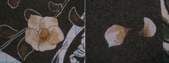 [tableau de sable] De A à Z avec un modèle de Oh! Great 1210