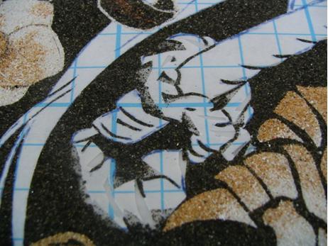 [tableau de sable] De A à Z avec un modèle de Oh! Great 2010