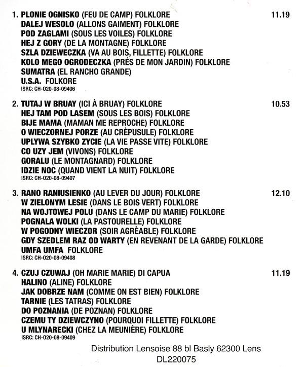 """Discogr. de l'Orchestre de Mandolines """" ISKRA """" Iskra610"""