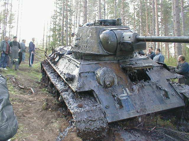T34, izvadjen iz jezera nakon 56 godina T34-1211