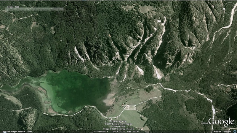 Le Monde par ses timbres sous Google Earth Autric10