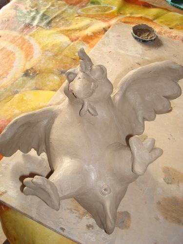 """modelage d'une boîte-poule """"en vrac"""" 34264010"""