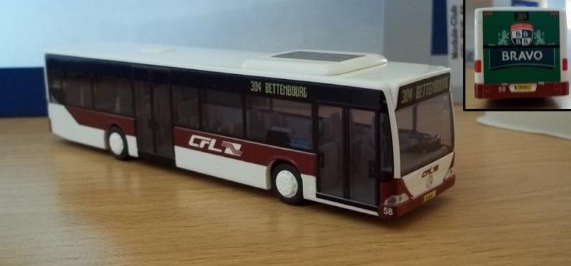 Bus des CFL avec publicité Bofferding en HO 100_2420