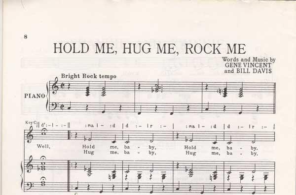 "Gene  Vincent "" speech ""session: 9463 11mai 1960 Holdme10"