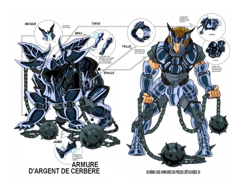 Les armures d'Argent Clothc15