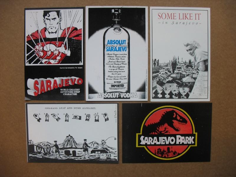 Cartes postales éditées pendant le siège de Sarajevo Img_5429