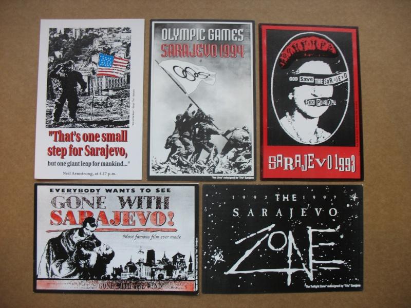 Cartes postales éditées pendant le siège de Sarajevo Img_5430
