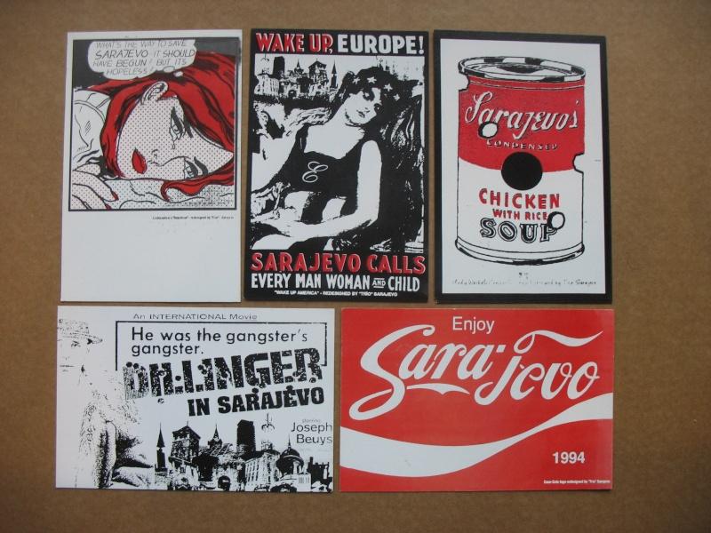 Cartes postales éditées pendant le siège de Sarajevo Img_5431