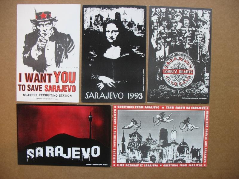 Cartes postales éditées pendant le siège de Sarajevo Img_5432