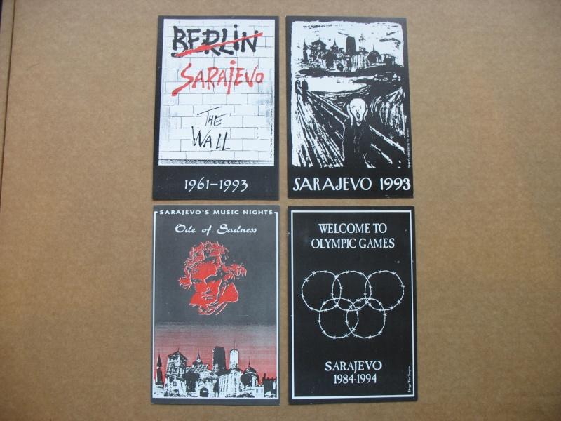 Cartes postales éditées pendant le siège de Sarajevo Img_5433