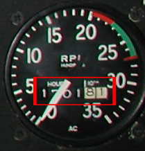 Heures moteur Rpm110