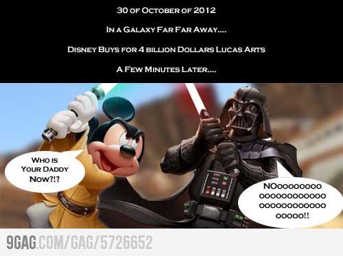 Disney rachète LucasFilm et prépare un Star Wars 7 pour 2015 57266510