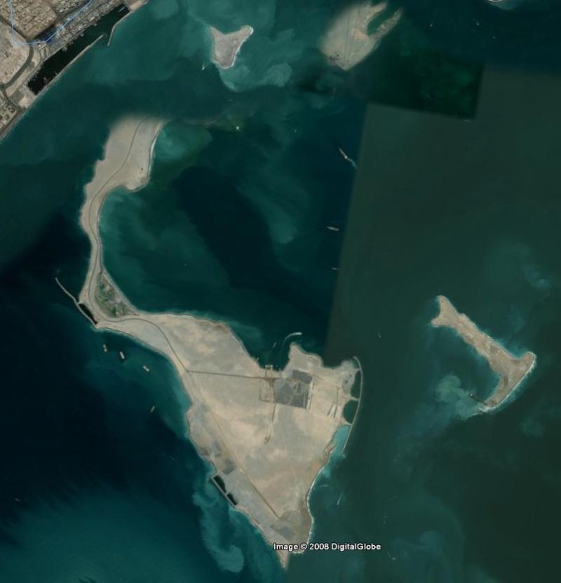 Bâteau attaché à une chose...., Dubai - Émirats Arabes Unis Iles10