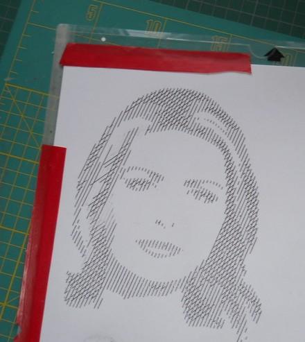 VIDEO : transformer un portrait en esquisse (sketch) Esquis10