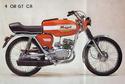 Référence couleur rouge Malaguti 1976-410