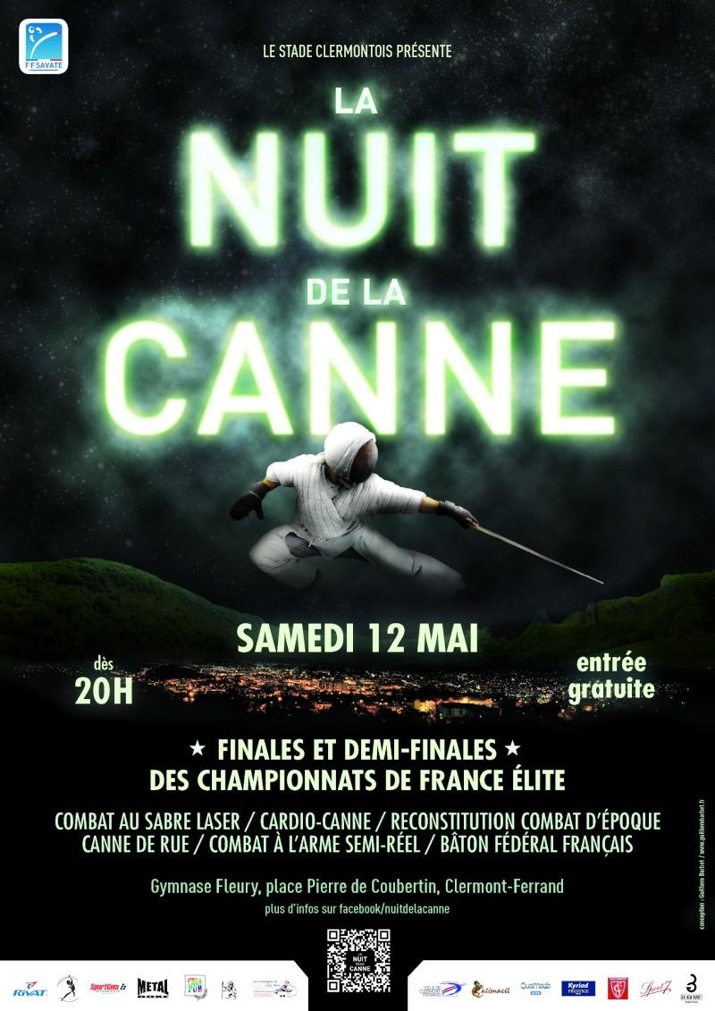 Nuit de la Canne à Clermont-Ferrand Affich10