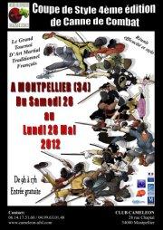 Coupe de Style de Canne de combat 2012 à Montpellier Affich11