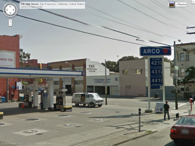 STREET VIEW : les enseignes de stations carburant / essence Arco10