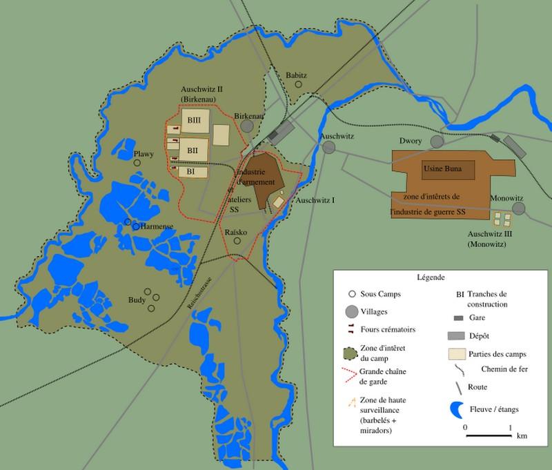 Camps de concentration et d'extermination Auschw11