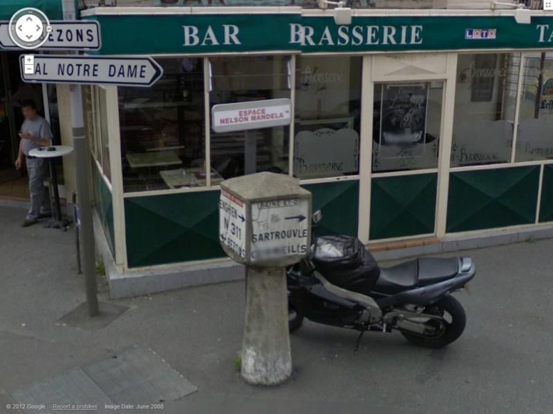 STREET VIEW : les bornes et les plaques Michelin Borne610
