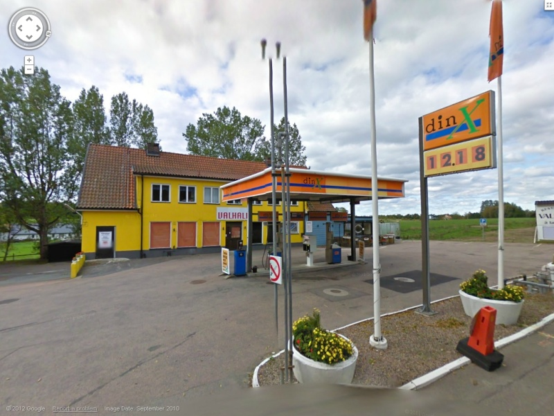 STREET VIEW : les enseignes de stations carburant / essence Dinx10