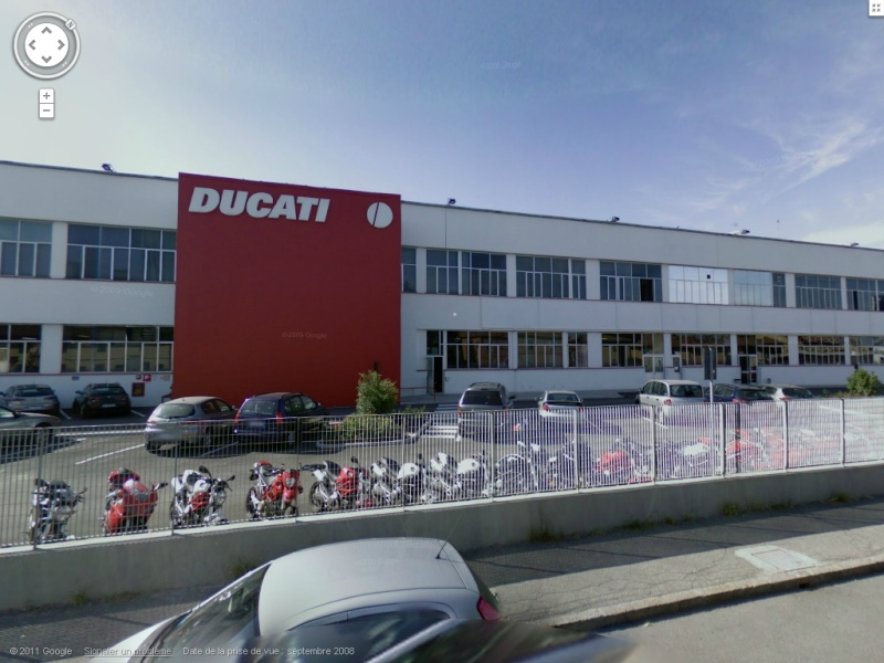 STREET VIEW : les usines Ducati10