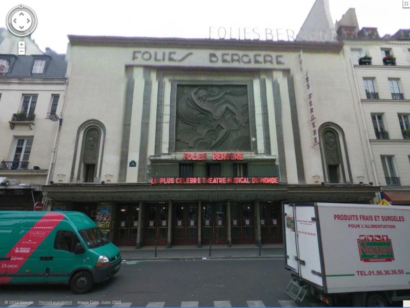 STREET VIEW : Cabarets et salles de spectacles Fb10