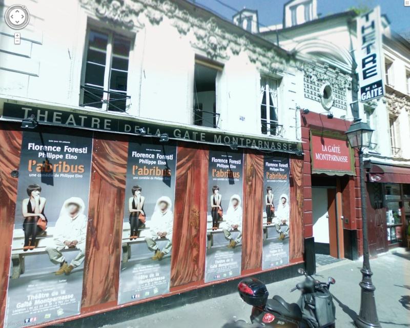 STREET VIEW : Cabarets et salles de spectacles Gaite10