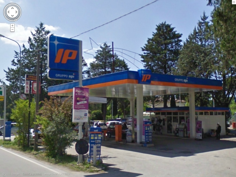 STREET VIEW : les enseignes de stations carburant / essence Ip10