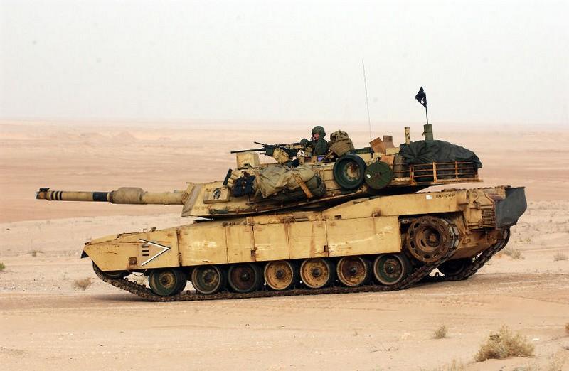 Les sites d'assemblage du char M-1 Abrams M1-210