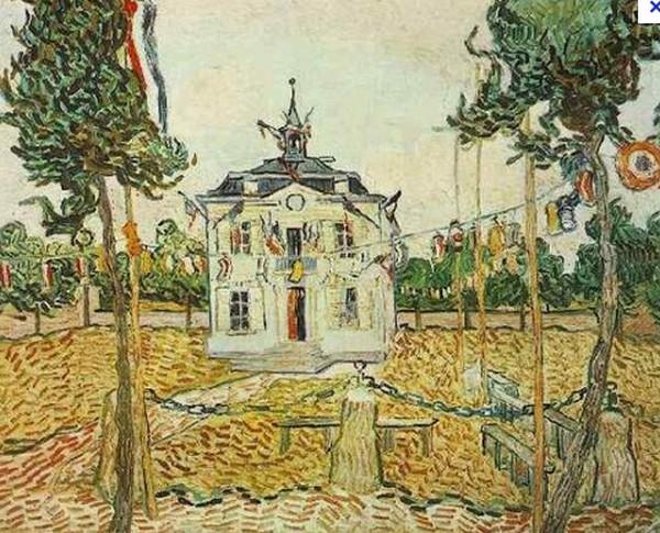 Street View : Lieux représentés sur des peintures célèbres (ou un peu moins) Mairie10