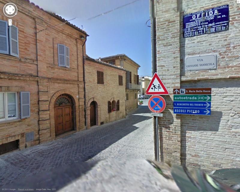 STREET VIEW : les panneaux routiers Pano10