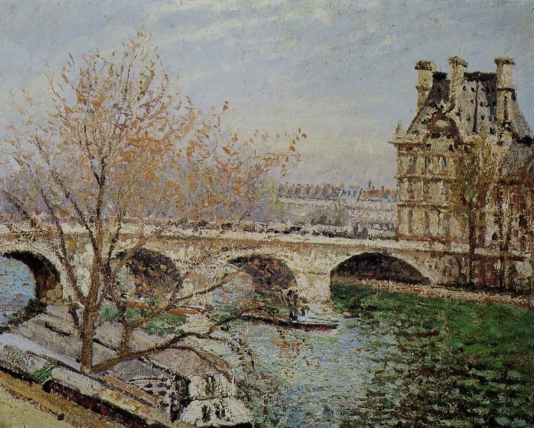 Street View : Lieux représentés sur des peintures célèbres (ou un peu moins) Pissar10