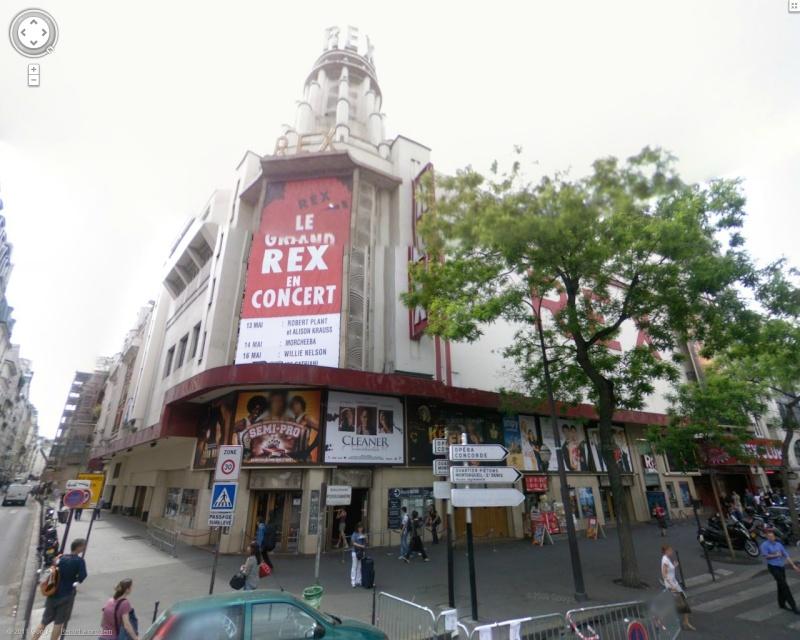 STREET VIEW : Cabarets et salles de spectacles Rex10