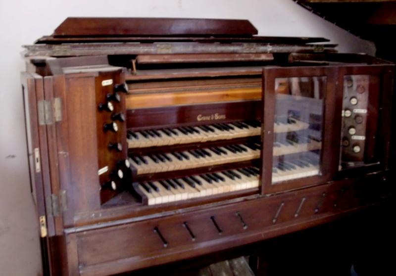 Reed Organ Arthur Spencer N° 2405, 1938 Cimg1311