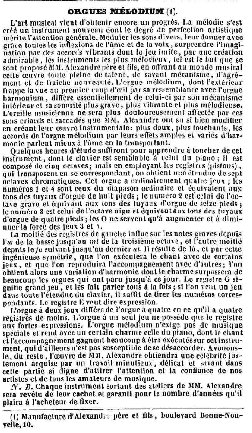 Le procès en contrefaçon de Debain - 1845 Debain12