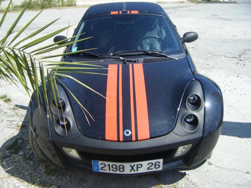Pose de Bandes Adhésives sur Smart Roadster 119