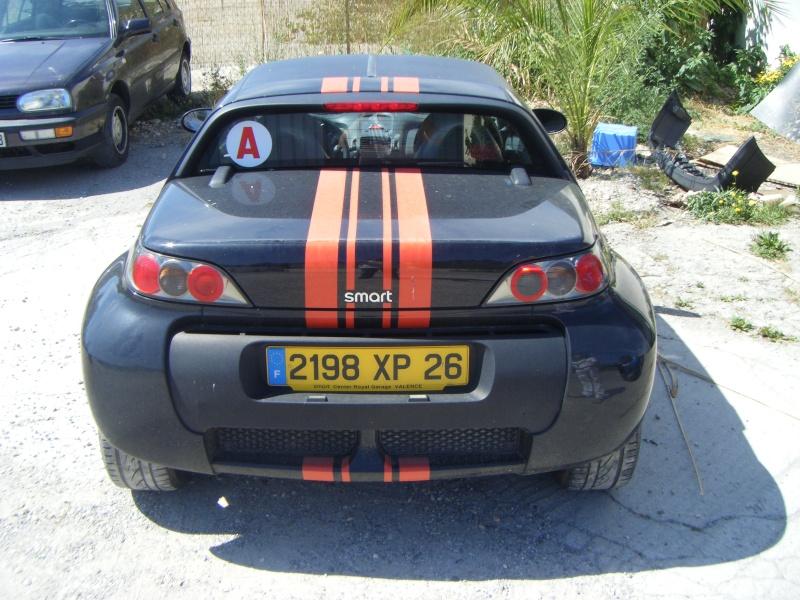Pose de Bandes Adhésives sur Smart Roadster 219