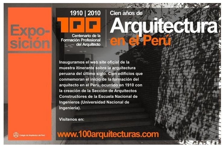 EXPO CAP: 100 Años de Arquitectura en el Perú 110