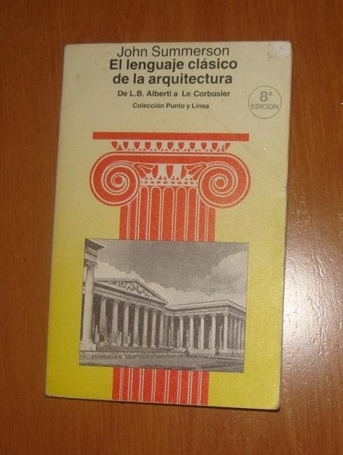 EL LENGUAJE CLÁSICO DE LA ARQUITECTURA Dsc07210