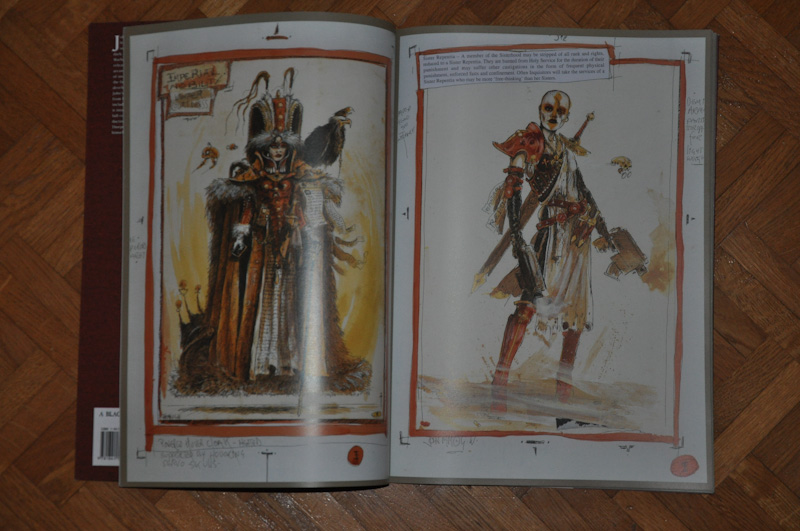 Les Artbooks sortis chez BLack Library Photo212