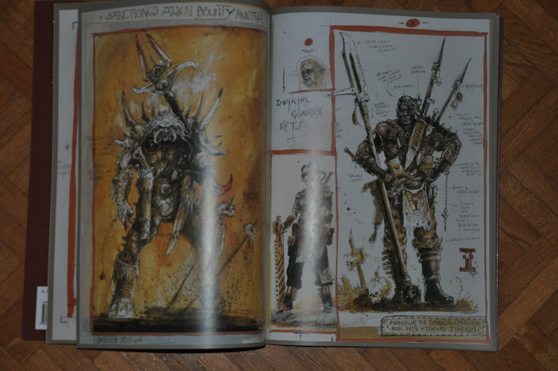 Les Artbooks sortis chez BLack Library Photo213