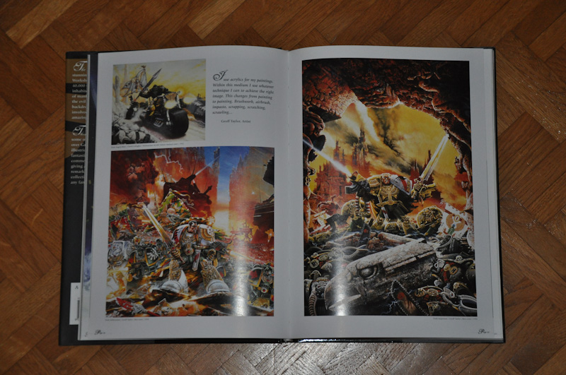 Les Artbooks sortis chez BLack Library Photo218