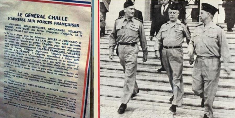 21 avril 1961, le putsch des généraux en Algérie. Aamci_23