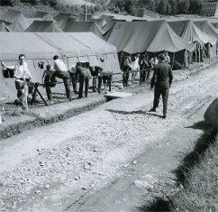 Histoire du Pèlerinage Militaire International de Lourdes.  Camp-m10