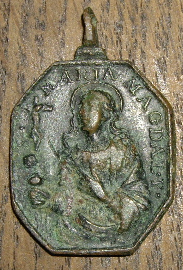Médaille Sainte   Marie Madeleine de Pazzi - XVIIème Imgp6036
