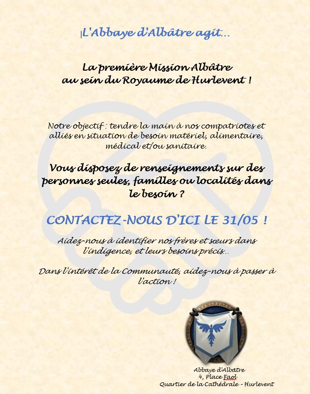 Communications publiques de l'Abbaye d'Albâtre Affich13