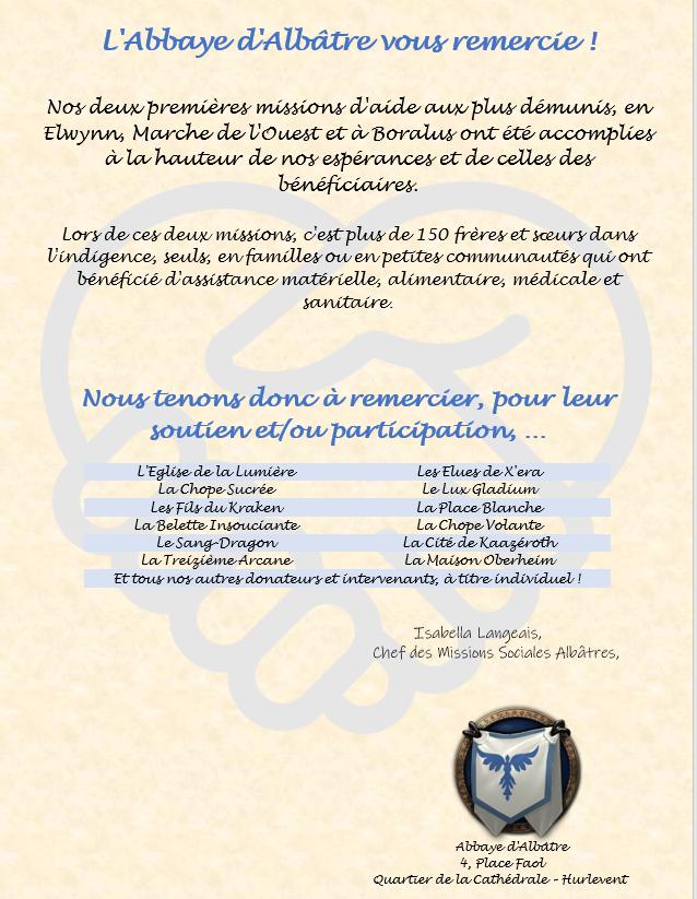 Communications publiques de l'Abbaye d'Albâtre Affich14